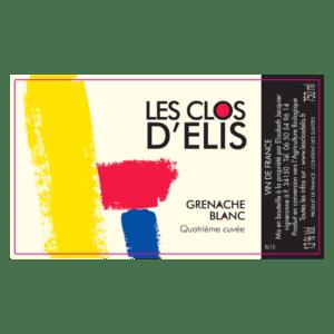 Clos d'Elis Grenache blanc 4ème cuvée 2015