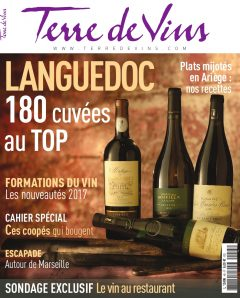 LES CLOS D'ELIS dans les 180 cuvées au TOP de la revue TERRE DE VINS 1