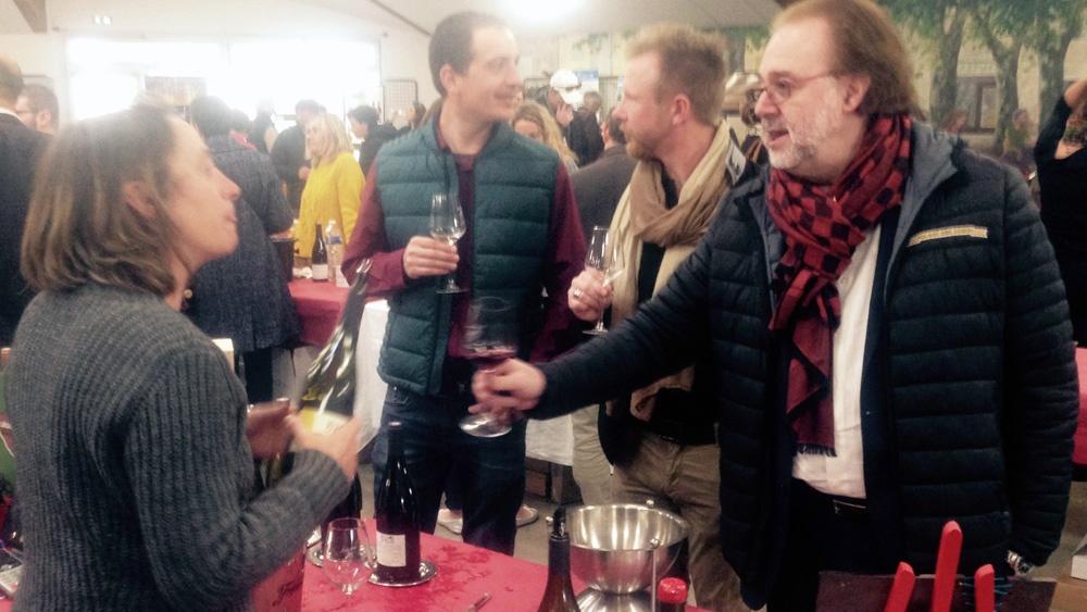 Dégustation des vins du Mas de Boissonnade