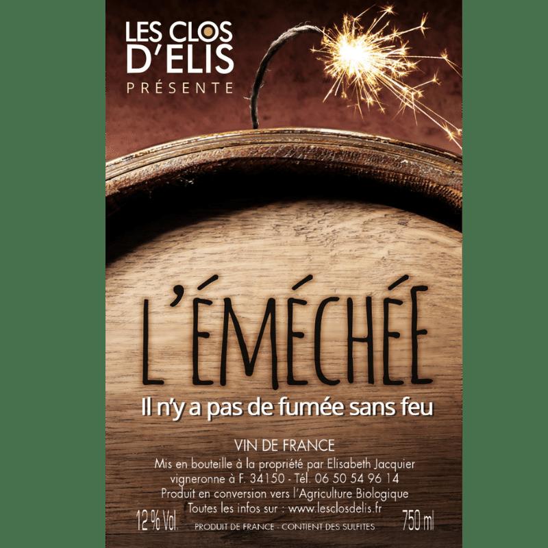 Clos d'Elis Cinsault L'éméchée 2015