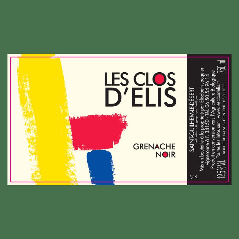 Clos d'Elis Grenache noir 2015