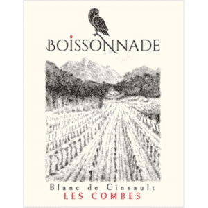 Boissonnade Blanc cinsault 2018