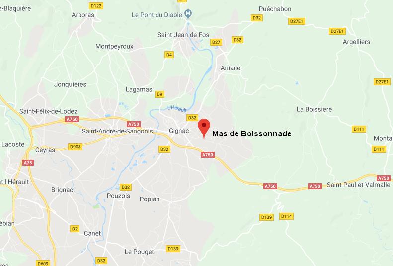Mas de Boissonnade - 34150 Gignac