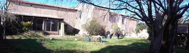 Corps de ferme du Mas de Boissonnade