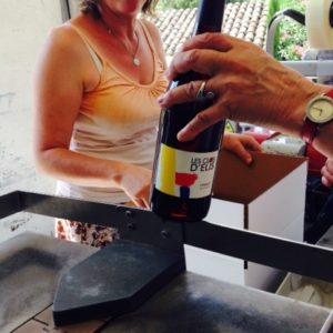 Mise en bouteille au Mas de Boissonnade