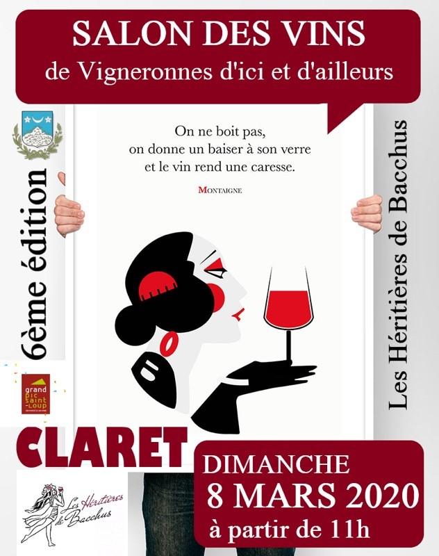 Salon Les Héritières de Bacchus - CLARET (34) - 8 mars 2020 2