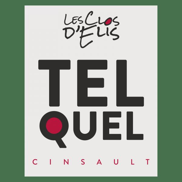 """Les Clos d'Elis Rouge Cinsault """"TEL QUEL"""" 2019 1"""