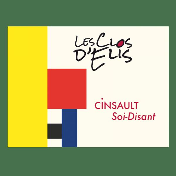 """Les Clos d'Elis Rouge Cinsault """"Soi-Disant"""" 2019 1"""