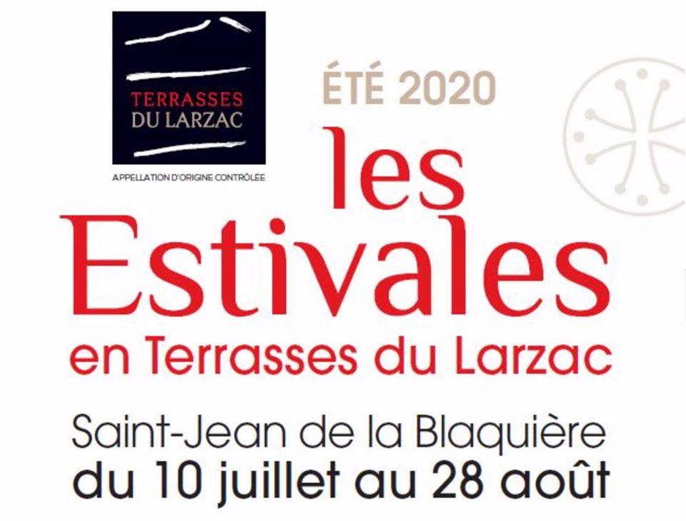 Les estivales en Terrasses du Larzac - Saint Jean de la Blaquière - Je serai présente le vendredi 14 août 2020 2