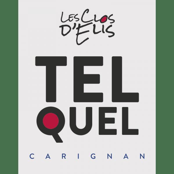 """Les Clos d'Elis Rouge Carignan """"TEL QUEL"""" 2019 1"""