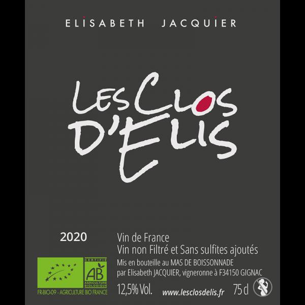 Les Clos d'Elis Rosé 2020 1